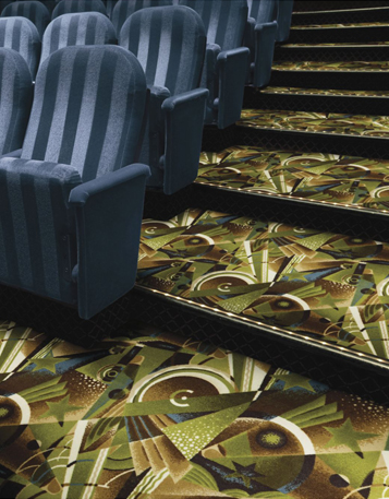 Shaw Philadelphia Queen Commercial Carpet Room Scene