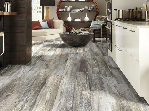Exceptionally durable and easy to clean, Shaw resilient vinyl flooring ...