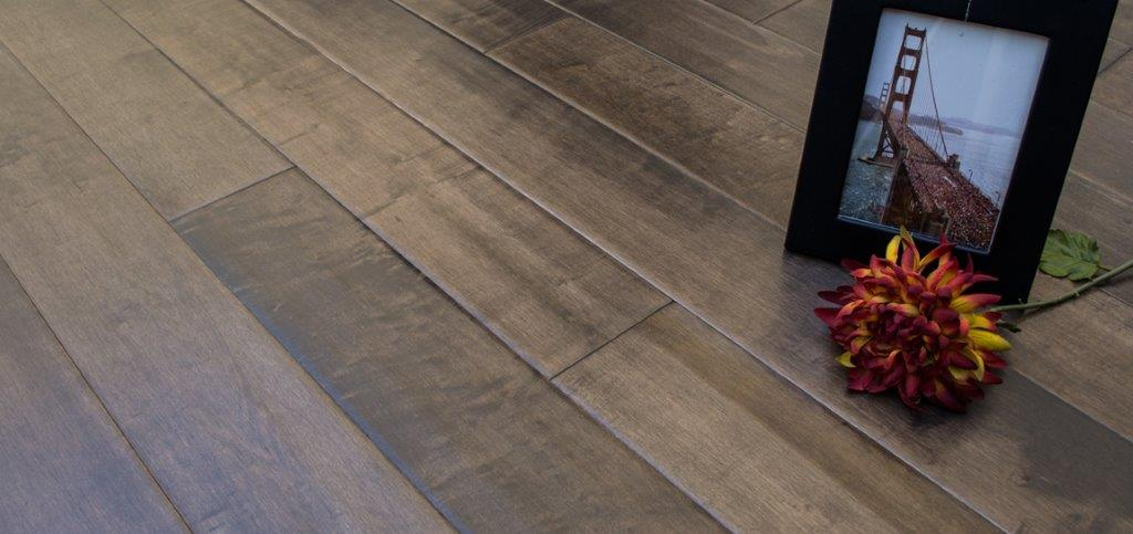 ... Maple Dapple Grey Garrison 2 Distressed Flooring Hero  ...