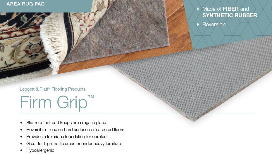 Firm Grip Area Rug Pad