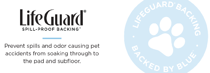 LifeGuard Waterproof Backing