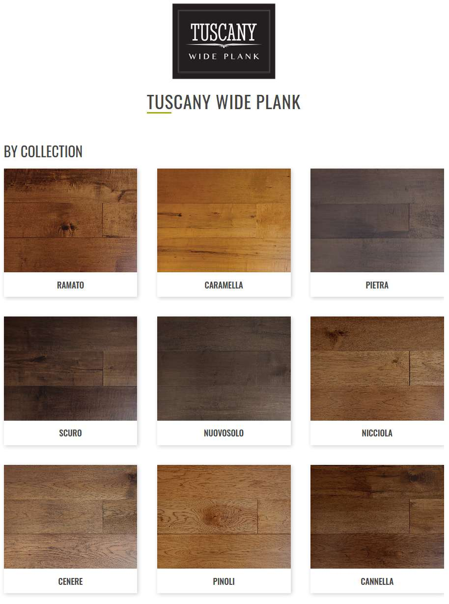 Tuscany Wide Plank