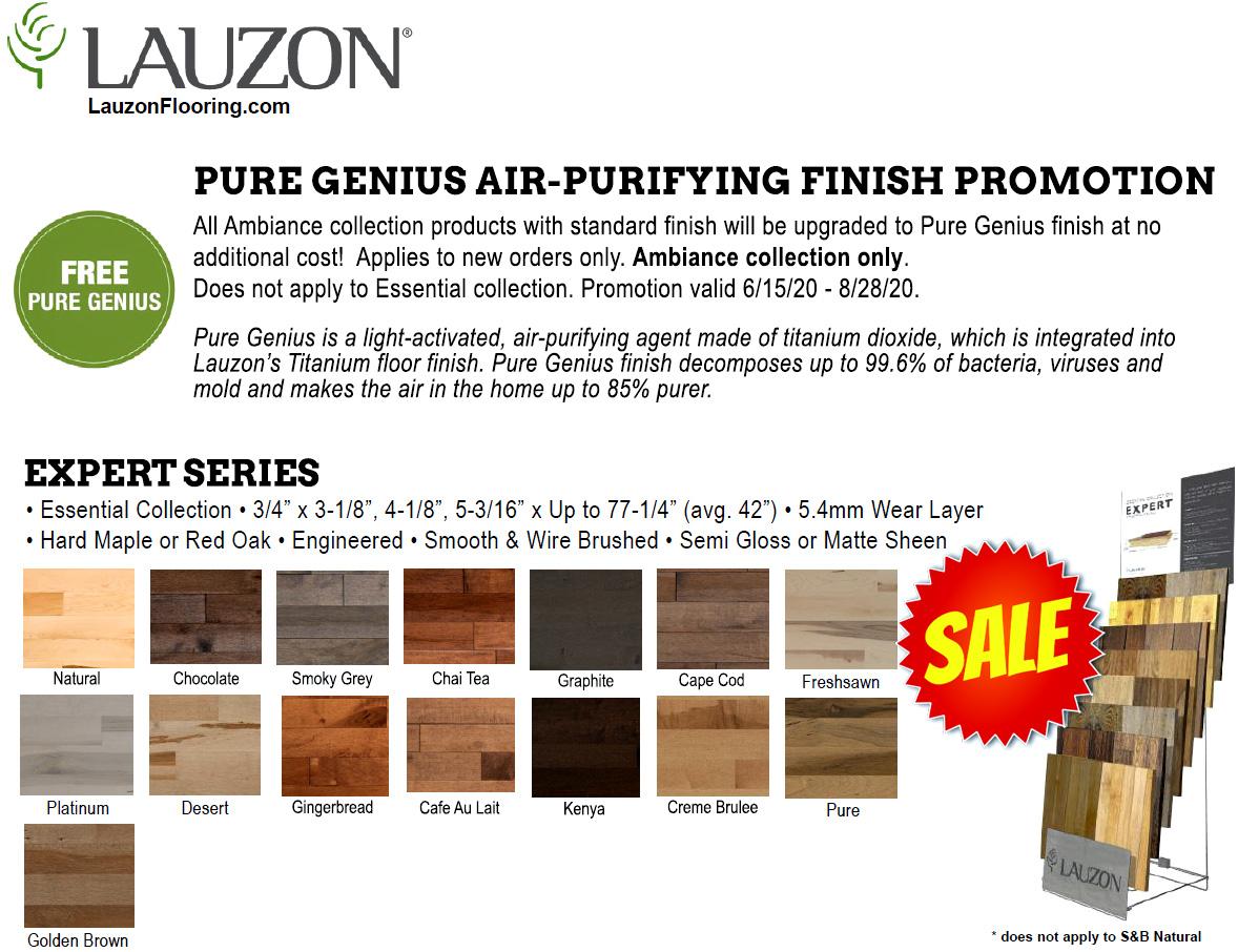 Lauzon Hardwood Flooring Sales