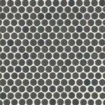 Penny Round Matte Mosaic Tile Iron