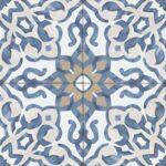 Villa Azul Matte Porcelain Tile - Blue