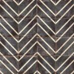 Bedrosians Tile Vivace Decorative Tile in Caviar Peak